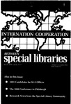 Special Libraries, Winter 1990