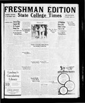 State College Times, September 23, 1931 by San Jose State University, School of Journalism and Mass Communications
