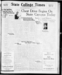 State College Times, October 27, 1931 by San Jose State University, School of Journalism and Mass Communications
