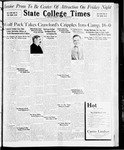 State College Times, November 10, 1931 by San Jose State University, School of Journalism and Mass Communications