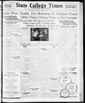 State College Times, November 13, 1931 by San Jose State University, School of Journalism and Mass Communications