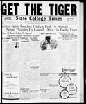State College Times, November 20, 1931 by San Jose State University, School of Journalism and Mass Communications