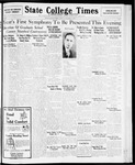 State College Times, December 8, 1931