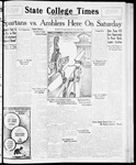 State College Times, January 8, 1932