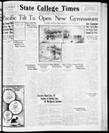 State College Times, January 15, 1932
