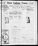 State College Times, January 22, 1932