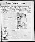 State College Times, February 26, 1932