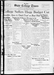 State College Times, May 3, 1932