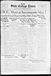 State College Times, May 5, 1932