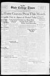 State College Times, May 6, 1932