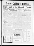 State College Times, July 21, 1932