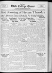 State College Times, October 12, 1932