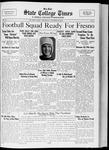 State College Times, October 20, 1932