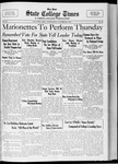 State College Times, October 26, 1932 by San Jose State University, School of Journalism and Mass Communications