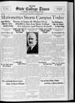 State College Times, October 27, 1932 by San Jose State University, School of Journalism and Mass Communications