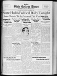 State College Times, November 1, 1932 by San Jose State University, School of Journalism and Mass Communications