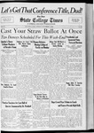 State College Times, November 4, 1932 by San Jose State University, School of Journalism and Mass Communications
