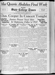 State College Times, November 15, 1932 by San Jose State University, School of Journalism and Mass Communications