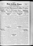 State College Times, November 16, 1932 by San Jose State University, School of Journalism and Mass Communications