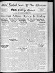 State College Times, November 17, 1932 by San Jose State University, School of Journalism and Mass Communications
