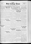 State College Times, January 11, 1933