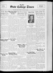 State College Times, January 13, 1933