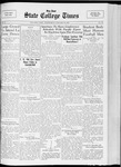 State College Times, January 18, 1933 by San Jose State University, School of Journalism and Mass Communications