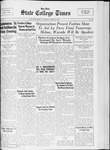 State College Times, April 25, 1933