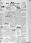 State College Times, May 9, 1933 by San Jose State University, School of Journalism and Mass Communications