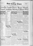 State College Times, May 25, 1933