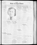 State College Times, November 14, 1933 by San Jose State University, School of Journalism and Mass Communications