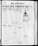State College Times, November 17, 1933 by San Jose State University, School of Journalism and Mass Communications