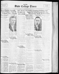 State College Times, December 5, 1933 by San Jose State University, School of Journalism and Mass Communications