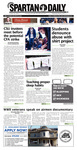 Spartan Daily, March 9, 2016 by San Jose State University, School of Journalism and Mass Communications