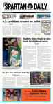 Spartan Daily, April 26, 2016 by San Jose State University, School of Journalism and Mass Communications