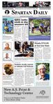 Spartan Daily, September 15, 2016 by San Jose State University, School of Journalism and Mass Communications