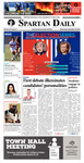 Spartan Daily, September 28, 2016 by San Jose State University, School of Journalism and Mass Communications
