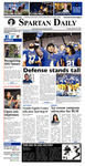 Spartan Daily, October 18, 2016 by San Jose State University, School of Journalism and Mass Communications