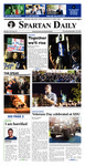 Spartan Daily, November 10, 2016 by San Jose State University, School of Journalism and Mass Communications