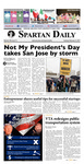 Spartan Daily, February 21, 2017 by San Jose State University, School of Journalism and Mass Communications