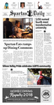 Spartan Daily, August 28, 2018 by San Jose State University, School of Journalism and Mass Communications