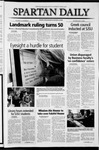 Spartan Daily, May 17, 2004 by San Jose State University, School of Journalism and Mass Communications