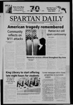 Spartan Daily, September 10, 2004 by San Jose State University, School of Journalism and Mass Communications