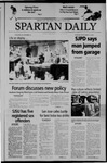 Spartan Daily, September 21, 2004 by San Jose State University, School of Journalism and Mass Communications
