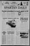 Spartan Daily, September 22, 2004 by San Jose State University, School of Journalism and Mass Communications