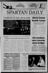 Spartan Daily, October 7, 2004 by San Jose State University, School of Journalism and Mass Communications