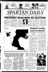 Spartan Daily, November 4, 2004 by San Jose State University, School of Journalism and Mass Communications