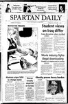 Spartan Daily, November 17, 2004 by San Jose State University, School of Journalism and Mass Communications