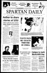 Spartan Daily, December 1, 2004 by San Jose State University, School of Journalism and Mass Communications