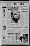Spartan Daily, February 15, 2005 by San Jose State University, School of Journalism and Mass Communications